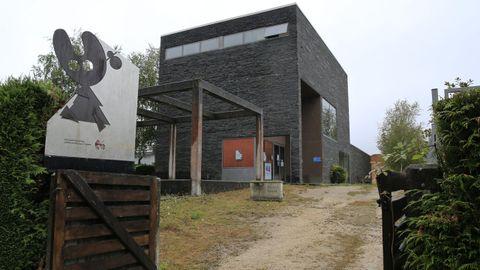 El albergue de peregrinos de Vilalba se construyó en Sete Pontes, junto al polígono