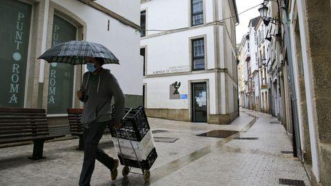 El albergue de peregrinos de Lugo está en la rúa das Nóreas