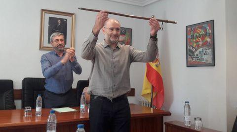 Secundino Fernández fue elegido alcalde en 2019 con los votos del PSOE