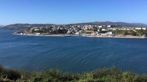 Vista de Ribadeo, uno de los municipios de A Mariña oriental