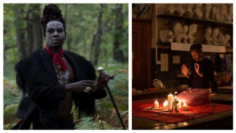 Detalle de dos escenas de la nueva película de Bertrand Bonello «Zombi Child»