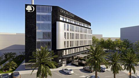 Así será el hotel Hilton A Coruña que se inaugurará en septiembre