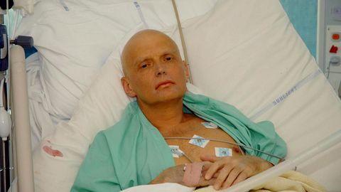 Alexánder Litvinenko, fue un opositor ruso envenenado en el 2006 con polonio, que murió días después a causa de la intoxicación