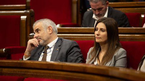 La llegada de Inés Arrimadas ha supuesto la ruptura de la bicefalia existente en Ciudadanos en Cataluña entre Roldán y Carrizosa, una persona muy cercana a la actual líder del partido
