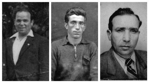 Luis Rodríguez Villar, Antonio Fariña Chouciño y Antonio Suárez Blanco, los tres malpicanos de Mauthausen
