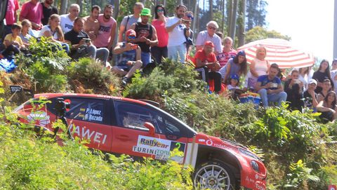 Imagen de archivo del rally de Ferrol
