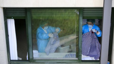 A finales de agosto, la Xunta tomaba el control del geriátrico de O Incio tras registrase un brote masivo