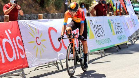 Pello Bilbao (Bahrain-McLaren) fue el ganador y se proclama campeón de España de contrarreloj