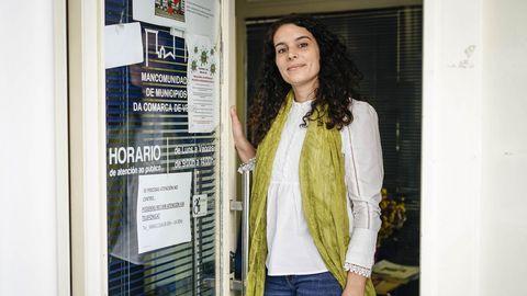 Lorena Álvarez, directora do Centro de Información á Muller de Verín.