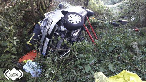 Accidente de tráfico en Vegadeo