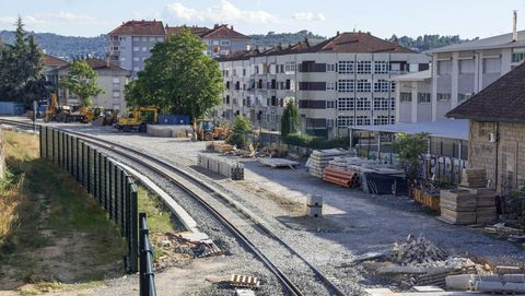 En el tramo Taboadela-Ourense, donde se habilitó un tercer hilo para el AVE, también se ejecutarán expropiaciones.