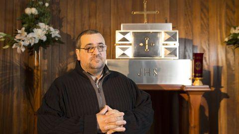 Óscar Santiago Sanmartín atende parroquias de Guitiriz e de Begonte