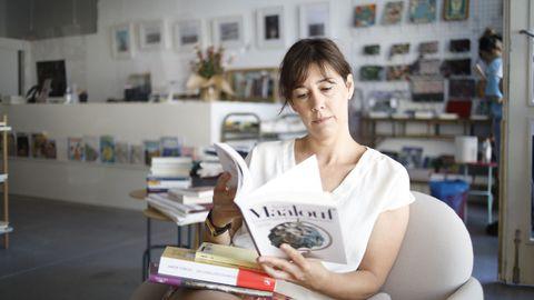 A libreira Gloria Fuertes, de Lectocosmos, este verán