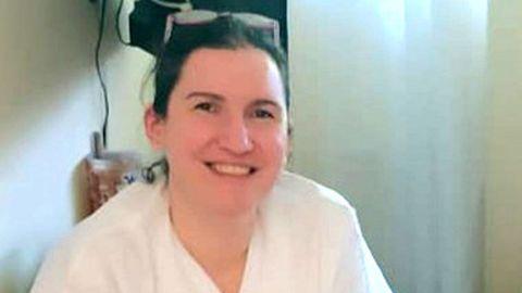 Gretel Lichtenstein, médica en el punto de atención continuada (PAC) del centro de salud de Baltar, en Sanxenxo