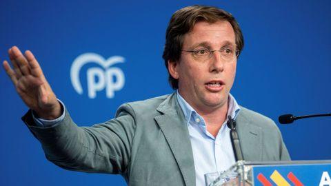 El portavoz nacional del PP, José Luis Martínez-Almeida