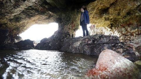 La Igrexa de Coedo en el litoral de Burela es un paraje irrepetible