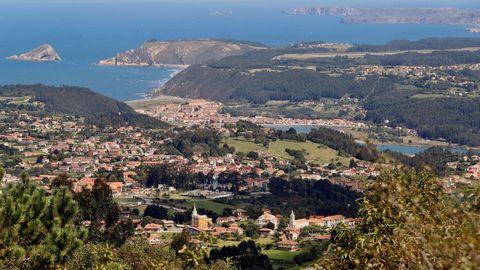 La localidad de Somao, en Pravia