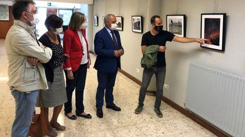 Inauguración de la muestra en la Casa de Cultura Lois Pereiro