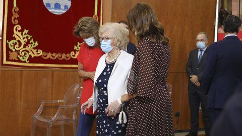Eva Cárdenas, Micaela Núñez Feijoo y Sira Feijoo