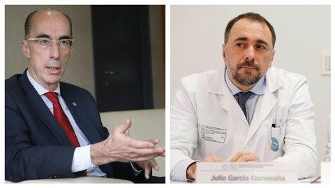 Jesús Vázquez Almuiña deja Sanidade, consellería que asume Julio García Comesaña