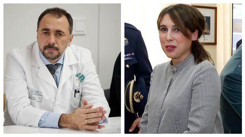 Julio García Comesaña y María Jesús Lorenzana