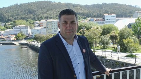 Ángel Alvariño, alcalde de Neda