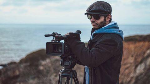 El director del documental, J.K Álvarez