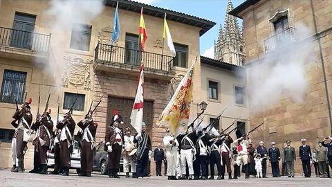 Conmemoración del 25 de mayo en Asturias