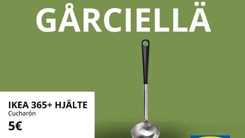 Publicidad de Ikea en asturiano