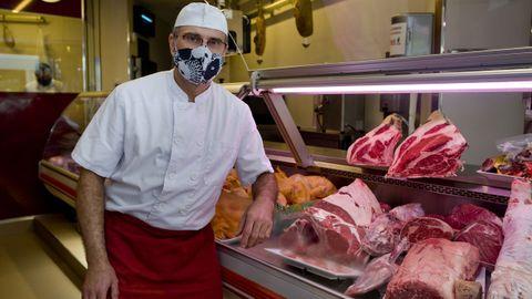 Ángel Campo López, de carnicería Campos