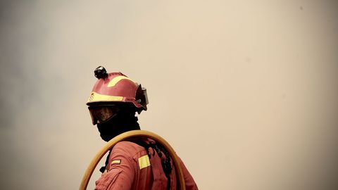 Los incendios han arrasado ya 7.000 hectareas en Ourense