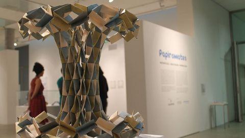 Exposicon de Papiromates en la sede de Afundación en Lugo