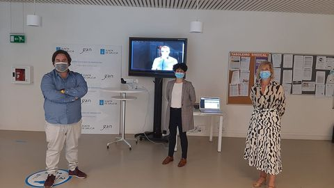 Creativigo trabaja ahora en un sistema de control de acceso a través de una cámara de reconocimiento facial