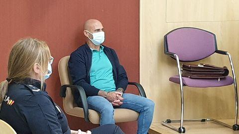 Ledo, durante el juicio