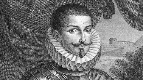 Retrato de Pedro Fernández de Castro en un antiguo grabado