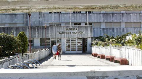 El IES Sánchez Cantón de Pontevedra es el centro de las principales ciudades gallegas que más ha aumentado su profesorado proporcionalmente