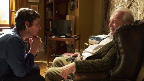 Olivia Colman y Anthony Hopkins, en «The Father», debut tras la cámara de Florian Zeller