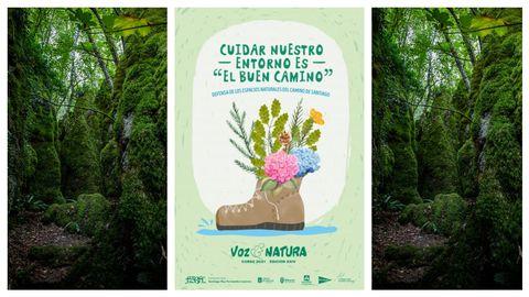 El cartel del programa de Voz Natura del curso 2020/2021
