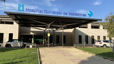 Fachada del Hospital Comarcal de Valdeorras