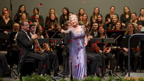 Mariella Devia en una de sus actuaciones