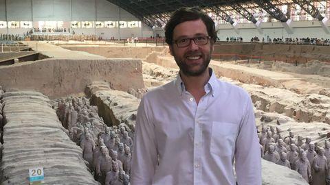 Marcos Martinón también es uno de los grandes estudiosos de los guerreros de Terracota