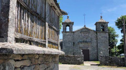 El entorno de la iglesia de San Xoán de Lagostelle se arreglará