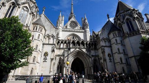 Edificio donde se dirime el pleito, en la sala Mercantil de la Corte Suprema de Inglaterra y Gales
