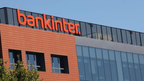 Fachada de la empresa Bankinter ubicada en Madrid