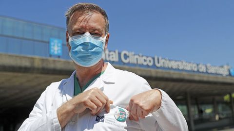 Pedro Rascado es miembro del comite clínico que asesora a la Xunta