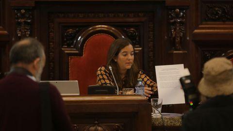 Pleno municipal de octubre en María Pita