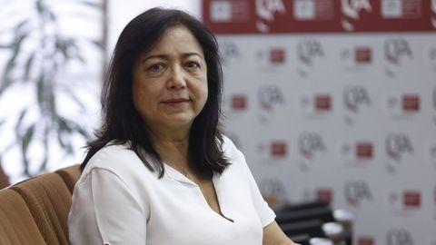 Pilar Otero en una foto de archivo