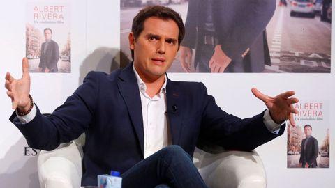 El expresidente de Ciudadanos, Albert Rivera