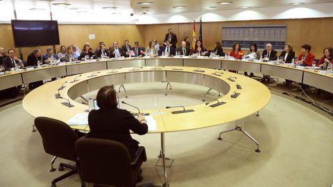 Imagen de archivo de una reunión del Consejo de Política Fiscal y Financiera presidida por la Ministra de Hacienda, María Jesús Montero