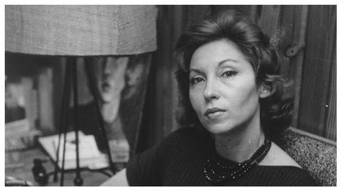 La escritora ucraniano-brasileña Clarice Lispector, retratada en torno a 1964